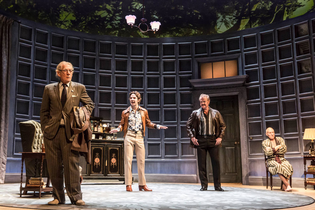 no man's land wyndham's theatre review